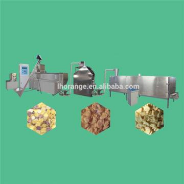 Hot sale Breakfast Cereal Puffed Flakes Processing line