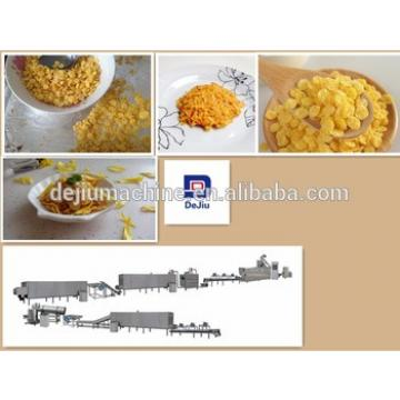 Hot Selling Crunchy Breakfast Cereal Cornflex Processing Machine