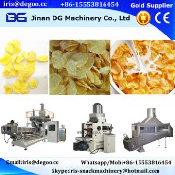 Automatic corn grits flip flakes snack food production line from Jinan DG machinery