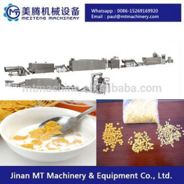High automatic Roasted Breakfast Cereal Corn Flakes Extrusion Machine