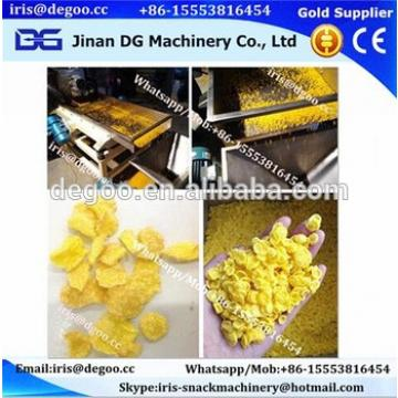 Industrial sugar coated corn flakes cereals process machines