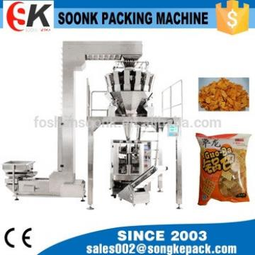 Horizontal Form Packaging Machine Dog Chewing Food Process Line