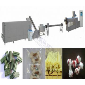 single screw Pet food extruder process line