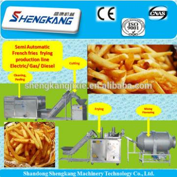Factory cheap price french fries making machine/ potato chips production line