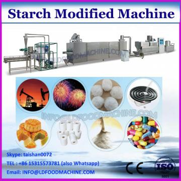 Modified corn starch based adhesive