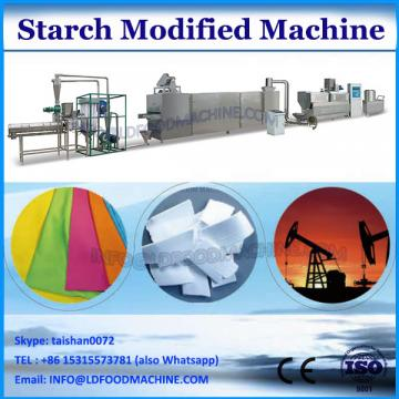 Modified starch screen machine with 99% precision