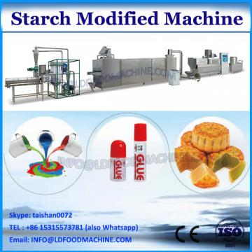 High yield automatic modified starch extruder