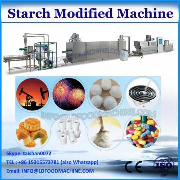 Modified starch extruder machine