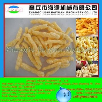Haiyuan CE Fried Nik naks Kurkure Cheetos Snacks Making Extruder Machine