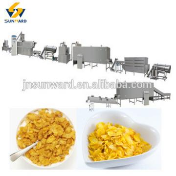 Breakfast flake food machine / cereal grain flakes maker