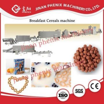 breakfase cereal nutririon snack food processing machinery