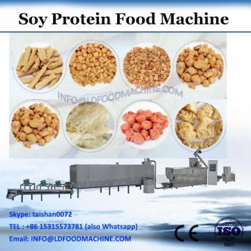 Stailess steel twin screw extruder textured soya protein making machine