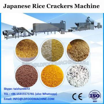 Japanese rich corn cracker machine YUZU MISO SENBEI from top quality ingredients