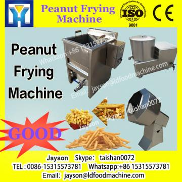Net-belt continuous peanut frying production line