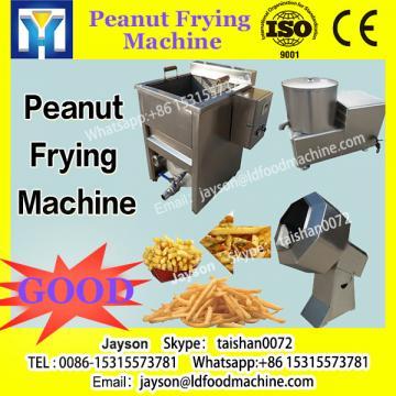 Peanut frying machine Potato crisp continuous fryer machine Snacks food fryer machine