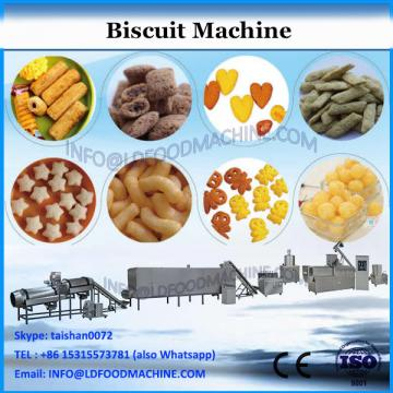 Automatic sandwich biscuit machine