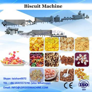 Full automatic oreo biscuit sandwiching machine with pillow packaging machine