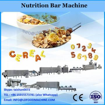 2018 factory supplier good quality popular cereal fruits bars machine