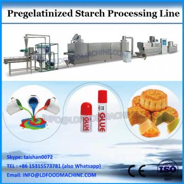 Pregelatinized modified potato/wheat/corn starches flours making extruders machines for oil well drilling and chemicals