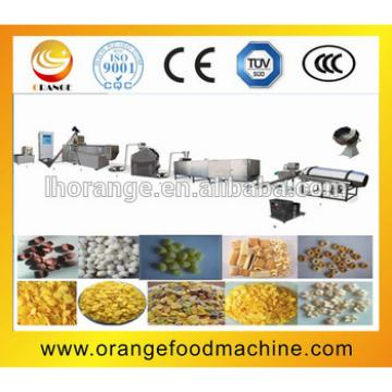 Good quality breakfast cereal/corn flakes making machine/making line+86-15939556928