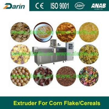 Breakfast Cereal Flakes Extrusion Food Machine Jinan Darin Machinery