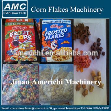 Froot Loops Breakfast Cereal Making Machine