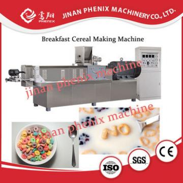 cornflakes breakfast cereal snack food making machine