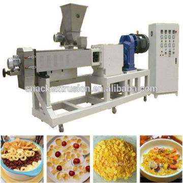 twin extruder breakfast cereal machinery
