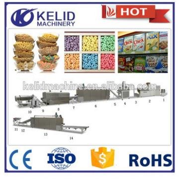 China supplier automatic best price corn flakes making machine