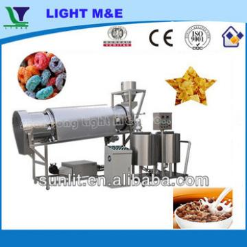 CE Breakfast Cereal Rice Corn Puff Snacks Suger Coating Machine