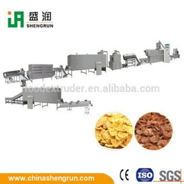Corn Flakes Breakfast Cereals Food Production Line Machinery