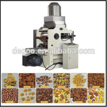Automatic Breakfast cereal and corn flakes snack manufacturing machinery