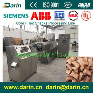 Double Screw Extruder Core Filled Snacks Machine