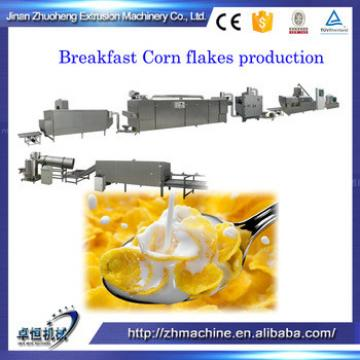 Crisp breakfast Quinoa cornflakes machine