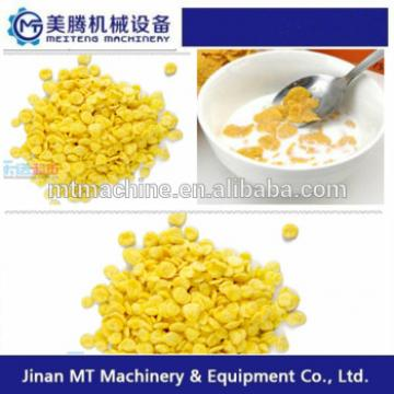 Automatic breakfast cereal corn flakes making machine