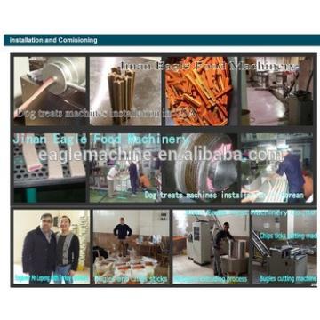 Pet chewing extruder machine/dog snack making equipment