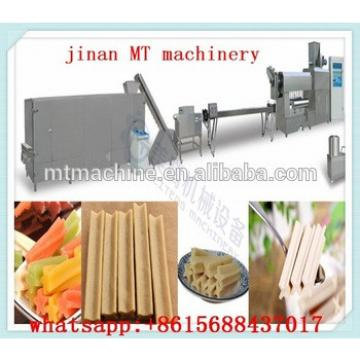 different shape dog treats production line/dog chew processing line