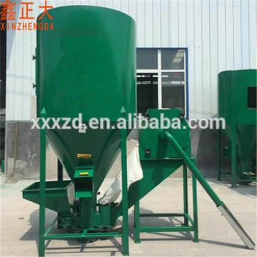 Horizontal poultry feed making and mixing machine animal feed grinder machine