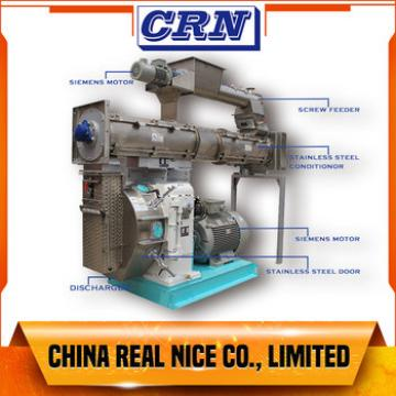 CRN SZLH420 PELLET MILL animal feed pellet machine WITH GERMAN IMPORTED SIEMENS MOTOR AND NICE PRICE