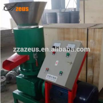 Easy to operate 100-120kg/h electric small animal feed pellet machine