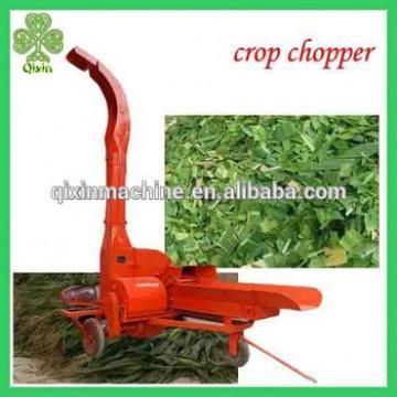 Grass hay straw stalk grinding machine / animal feed grass fodder cutting machine