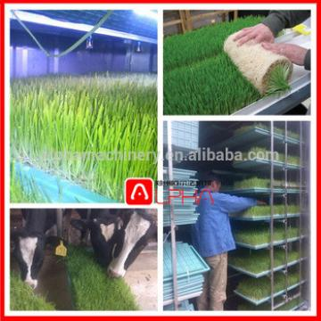 plastic seedling tray /animal feed hydroponic fodder making machine/ pasture sprout growing equipment with fodder corn tray