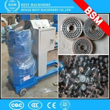 Uganda free sample Portable animal feed processing machines 100kg/h mini feed pellet mill
