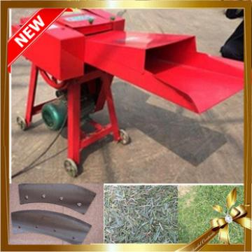 New design Agricultural grass chopper machine for animals feed/ chaff cutter