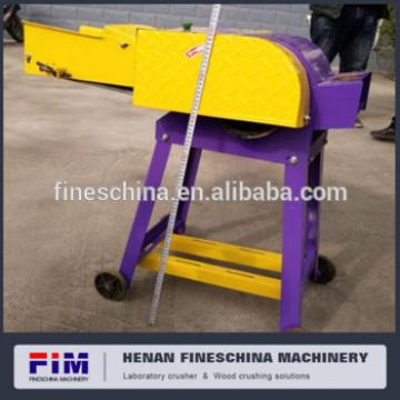 dry or wet grass cutter machine for animal feeding