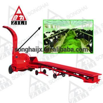 China electric grass cutting machine, fodder chopper machine for animal feed