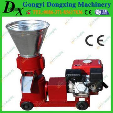 CE certificated petrol engine animal feed small pellet making machine