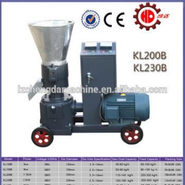KL230B farm poultry equipment flat die animal feed mill sheep cattle food pellet machine