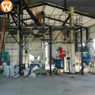 New technology 1-2t/h automatic animal feed pellet production line machine with CE