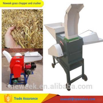 Animal feeding hay grass chopper corn stalk chaff cutter machine
